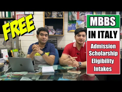 FREE MBBS IN ITALY | All You Need To Know About | Edify Group | 2020
