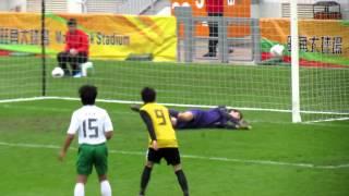 遵理荃灣vs英皇佐治五世 2012學界足球精英賽決賽 下半塲精華