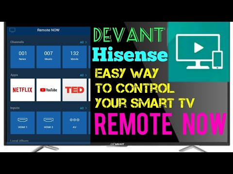 REMOTE NOW | DEVANT/ HISENSE SMART TV | EASY CONTROL DEMO |TAGALOG