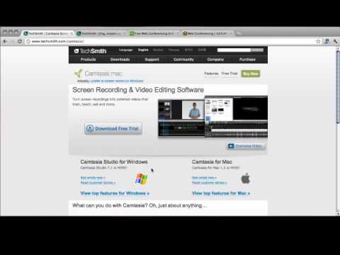 [Video Marketing For Online Success] Using Screen Capture Software For Video Tutorials