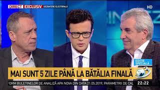 Sinteza zilei: Călin Popescu Tăriceanu, despre scorul pe care îl va obține ALDE la europarlament