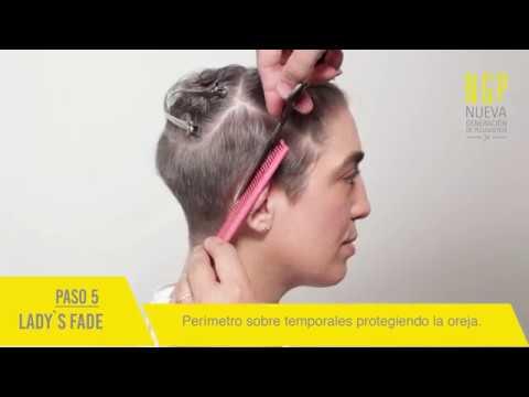 Lady`s Fade - Tecnica de corte Femenino - NGP Educacion para estilistas