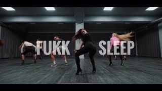 FUKK SLEEP- ASAP ROCKY & FKA TWIGS // HIGHHEELS CHOREOGRAPHY BY POLINA GLEN  // DANCE VIDEO
