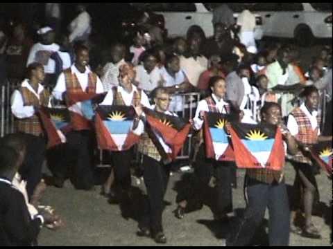 2000 08 17 21 30 02 Carifesta VII Opening Ceremony  Antigua & Barbuda