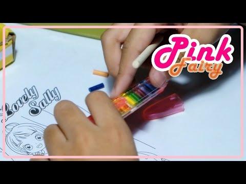 ของเล่นสมุดภาพขูดสี ระบายสี และสีไม้เปลี่ยนใส้ได้