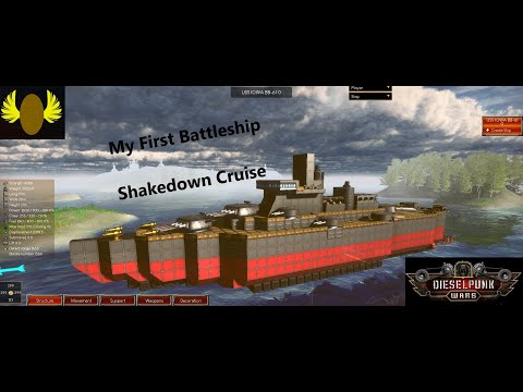 Dieselpunk Wars - Battleship Shakedown Run