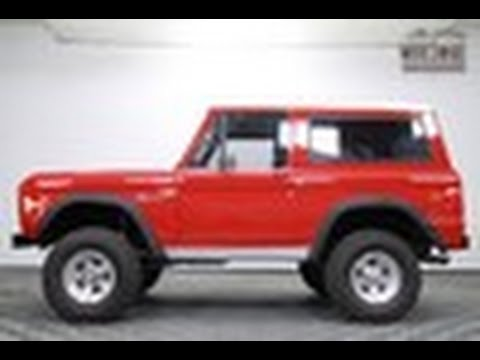1977 Ford Bronco Best Year Ps Lift 1k Miles Auto For