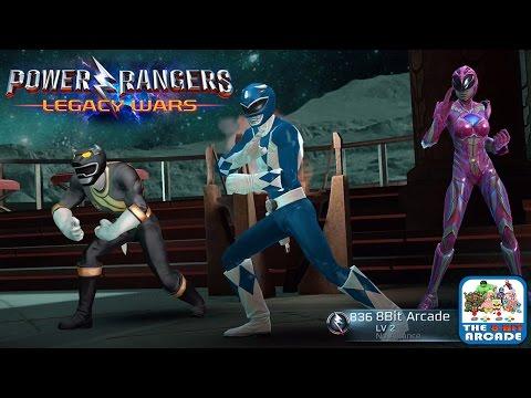 Power Rangers: Legacy Wars - Can You Beat The 8-Bit Arcade Team? (iOS/iPad Gameplay)