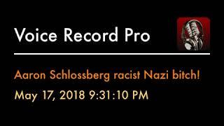 Aaron Schlossberg racist Nazi bitch!