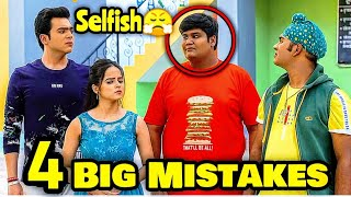 4 Big Mistakes In Taarak Mehta Kaa Ooltah Chashma - Selfish TapuSena!!