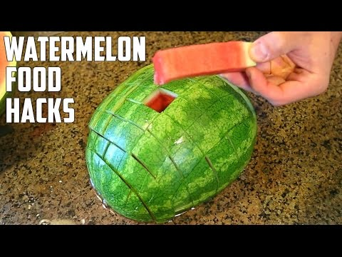 Thumbnail: 5 AWESOME Watermelon Food Life Hacks You Should Try!