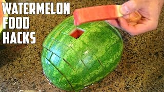 5 AWESOME Watermelon F๐od Life Hacks You Should Try!