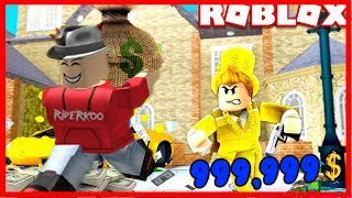 I ROBBED THE MOST LUXURIOUS HOUSE FOR 9999999999 💲!! | Roblox