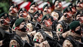 Desfile militar México 2016. Mexican Military Parade 2016.