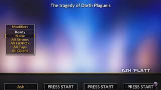 darth plagueis the wise guitar hero