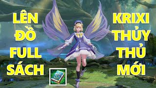 Krixi Thủy thủ chơi lớn lên đồ Full Sách thả bướm ảo cực kỳ thốn mùa 18 Liên quân mobile