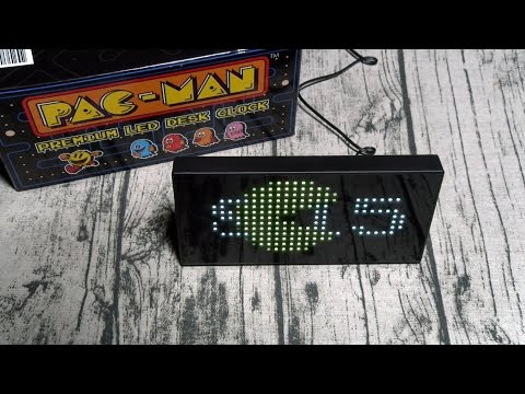 200 Pac Man Clock Unboxing Doovi