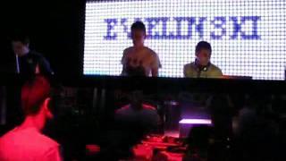 Evelinski & Svetlesse @ Club Opium, playing Inxec & Mark Chambers - O