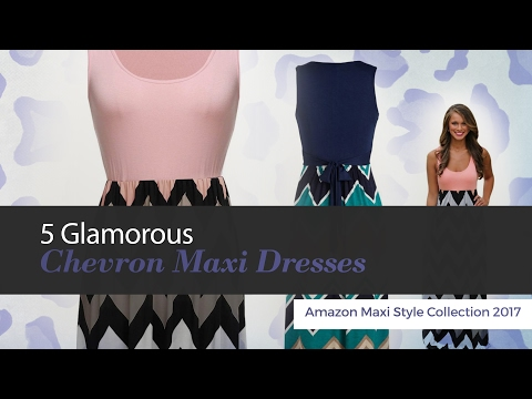 574aa3155b3 Long Chevron Dresses for Women