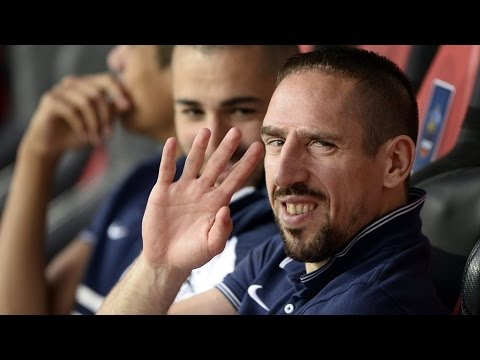 Franck Ribéry renonce à l'équipe de France de football