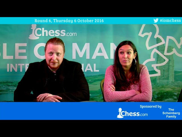 2016 Chess.com Isle of Man Tournament (Douglas) Round 6, Part 1