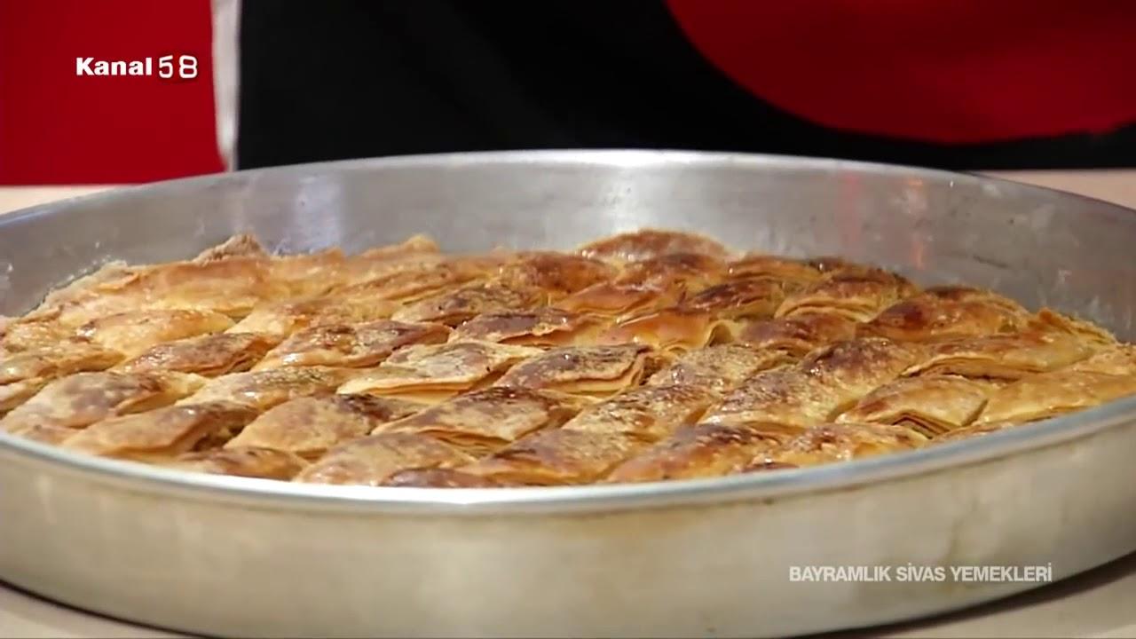 Sivasın Hurma Tatlısı Kalburabastı Videosu