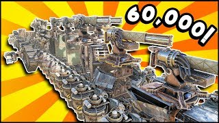 Crossout - 60,000 POWERSCORE! Is This The Highest Powerscore? (Crossout Leviathan)
