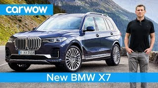All-new BMW X7 SUV 2019 - see why it