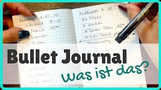 bujo erklrung was ist ein bullet journal