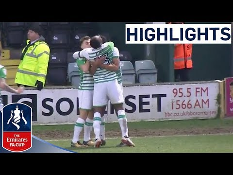 Yeovil 2-0 Bradford | Lowest-Ranked Yeovil are in Round 4! | Emirates FA Cup 2017/18