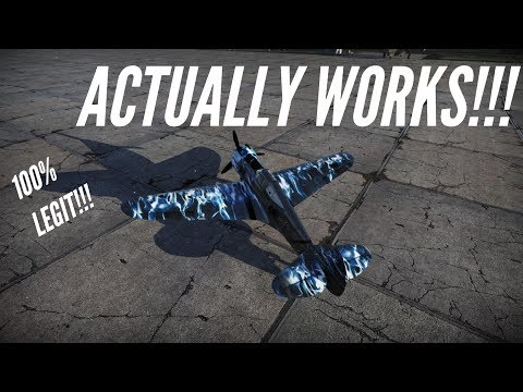 How To Download And Install Custom Skins In War Thunder Updated Youtube