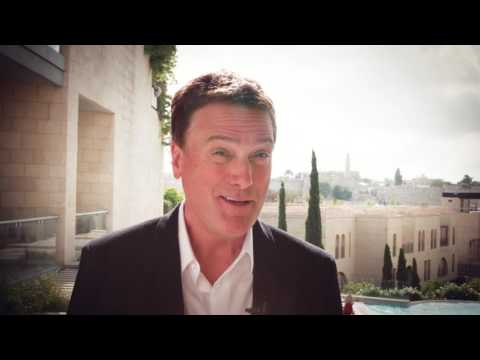 "Michael W Smith - ""Israel...It will change your life"""