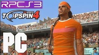 PS3 Emulator Top Spin 4 Tennis PC (RPCS3) Haswell TSX i7 4790k