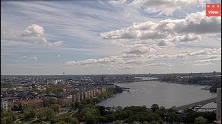 Preview of stream Stockholm cityscape from DN Tower, Sweden