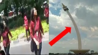 Download Video GEMPA HARI INI DI JAKARTA MONAS JADI KORBAN MP3 3GP MP4