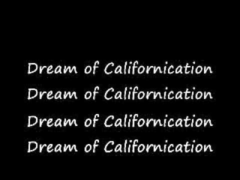 Californication - Red Hot Chilli Peppers Lyrics