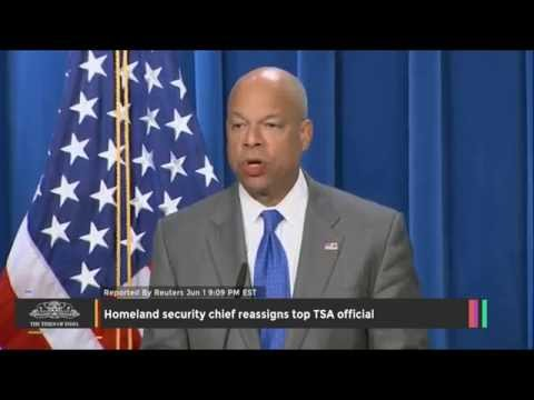 Top TSA Official Reassigned by Homeland Security Chief