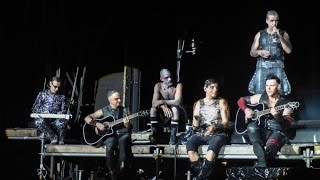 Rammstein - Ohne Dich (Acoustic Version) Live at the Rock In Vienna 2016 (Semi ProShot) HD