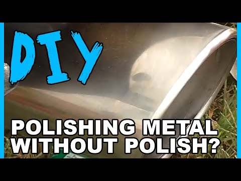 How to Polish Metal without Metal Polish?