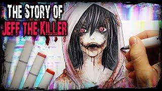 JEFF THE KILLER - Birth of a Monster - (Horror Story) Creepypasta + Drawing