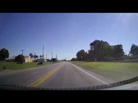Driving from Stuart, Florida to Clewiston, Florida