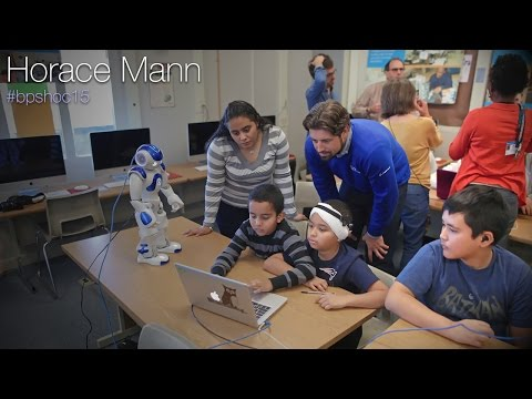 Quick Clip: Horace Mann School during Hour of Code