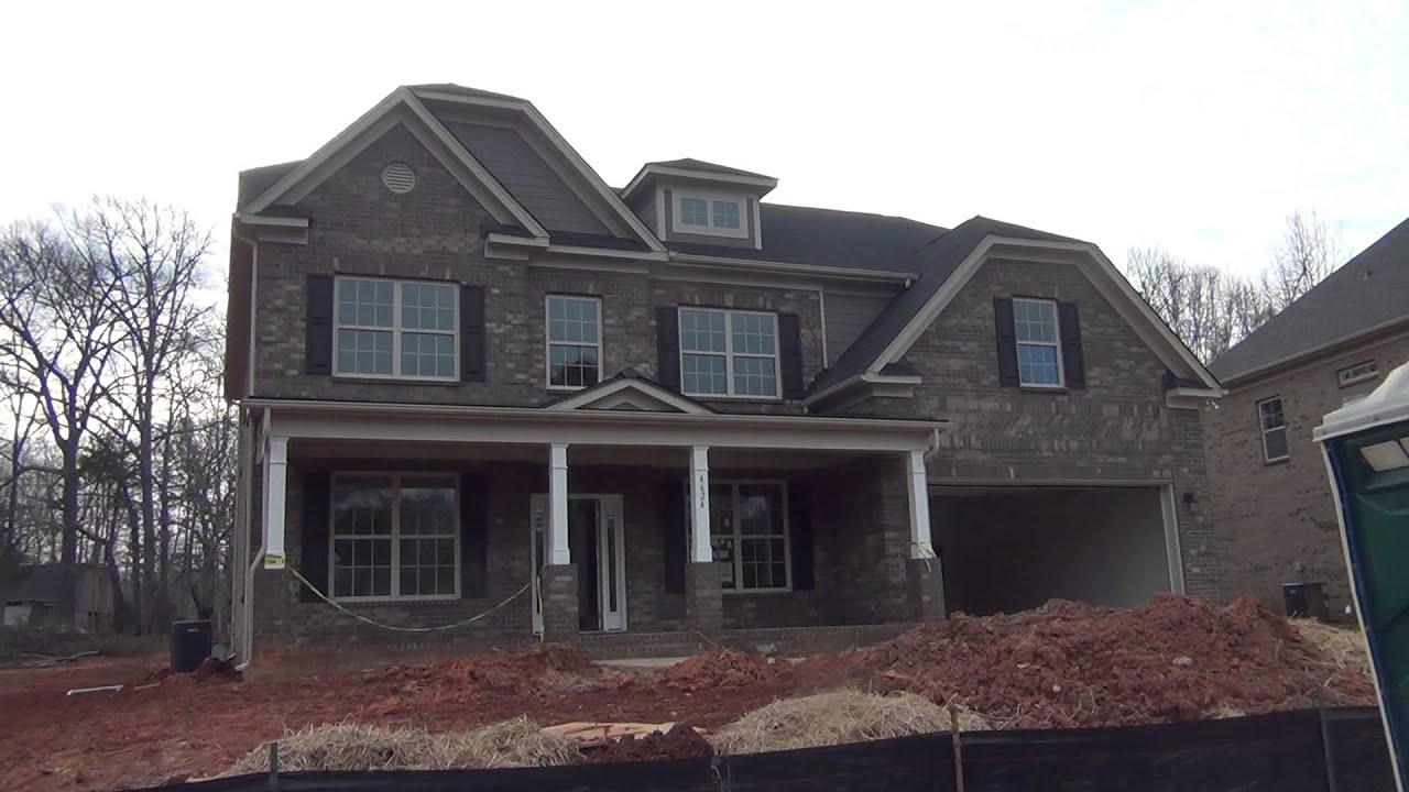 New brick homes charlotte nc youtube for New brick homes