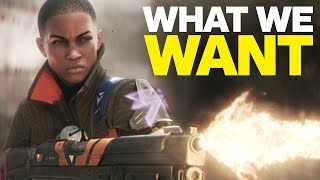 Destiny 2: Top 10 Most Wanted Changes