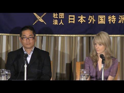 "Charlotte Kate Fox & Ken Sakurai: lead actress & producer of NHK's ""Massan"""