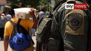 Venezuela crisis is 'splitting families'