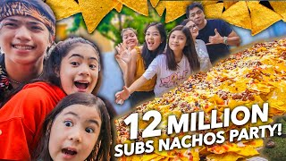 12 MILLION Subscribers NACHOS Party!!! (WOHOO!!) | Ranz and Niana