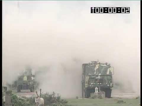 Akash defence missile test fire