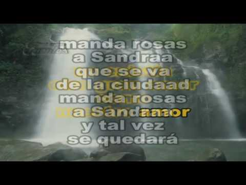 SABU - MANDA ROSAS A SANDRA - KARAOKE