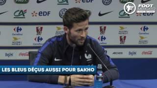 Les Bleus réagissent aux tristes cas Mathieu et Sakho